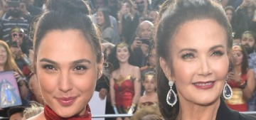 Lynda Carter & Gal Gadot looked amazing at the 'Wonder Woman' premiere