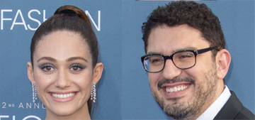Emmy Rossum married Sam Esmail in New York City on Sunday