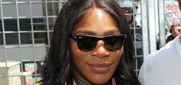 Serena Williams hung out with Chris Hemsworth at the Monaco Grand Prix