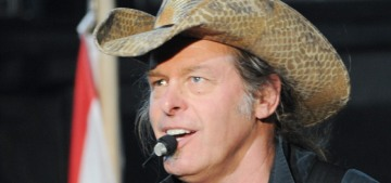 Ted Nugent is completely open to running for a Senate seat in 2018