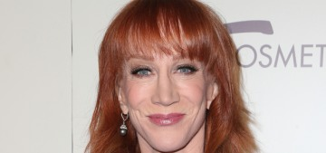 Kathy Griffin is sorry for posing with a bloody, fake, decapitated Trump head