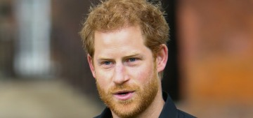 Prince Harry was all about the military, veterans & the Invictus Games on Tuesday