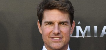 """Tom Cruise's promotional tour for 'The Mummy' is ceaseless"" links"