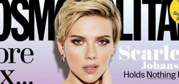 Scarlett Johansson: Women are labeled 'sluts' for having a healthy sexual attitude