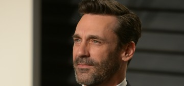 Jon Hamm: 'It's hard to be single after being together for a long time. It sucks'