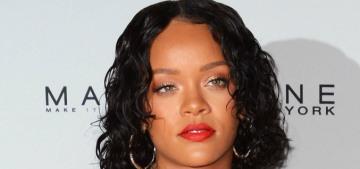 Rihanna responds to a blog's fat-shaming column with a funny meme