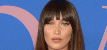 Bella Hadid, bangsy in Off White at the CFDAs: gorgeous or dated?