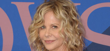 Meg Ryan in Christian Siriano at the CFDAs: nothing special or striking?