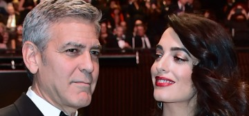 George & Amal Clooney welcomed their twins, Alexander & Ella, this morning