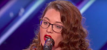 Deaf singer earns Simon Cowell's golden buzzer on America's Got Talent