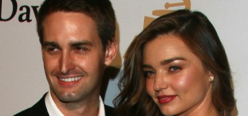 L&S: Miranda Kerr 'would love' to be pregnant with Evan's baby this summer