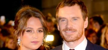 Star: Michael Fassbender & Alicia Vikander are still happening, plan to marry