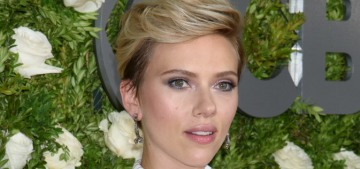 Scarlett Johansson in Michael Kors at the Tony Awards: cute or dated?