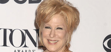 Bette Midler refused to be played offstage with a musical cue during the Tonys