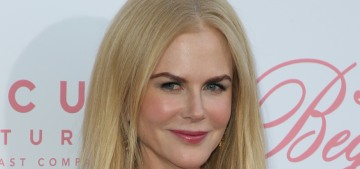Nicole Kidman in pink-sleeved Carolina Herrera at LA premiere: ugh or meh?