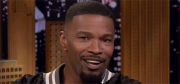 Jamie Foxx: Ed Sheeran, Nick Cannon crashed on my couch (not at the same time)