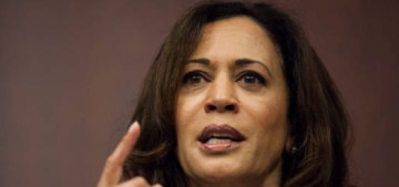 No, Senator Kamala Harris is not 'hysterical.'  This is not even a debate.