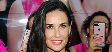 Demi Moore says she recently 'knocked out' a tooth due to stress