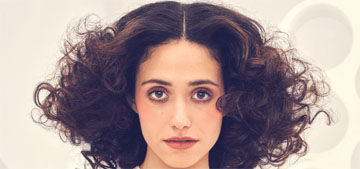 Emmy Rossum is ok with onscreen nudity, but has a problem with kids seeing violence