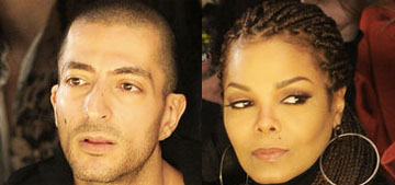 Janet Jackson and her ex Wissam begin divorce proceedings in London