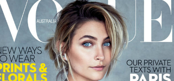 Paris Jackson covers Vogue Australia: 'I have young girls looking up to me'