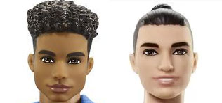 Mattel releases Ken dolls with more diversity and body types