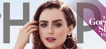 Lily Collins: 'I never dreamed I'd be in a bikini on the cover of Shape'