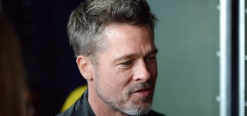 Brad Pitt, hip & cool 53-year-old, hung out with the youngsters at Glastonbury