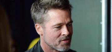 Brad Pitt & Sienna Miller 'couldn't keep their hands off each other' in Glastonbury