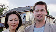 "Brad Pitt Says Katrina Was A ""Man-Made"" Disaster"