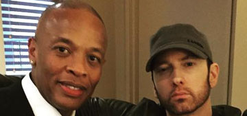 Eminem has dark hair and a beard now: better or not?