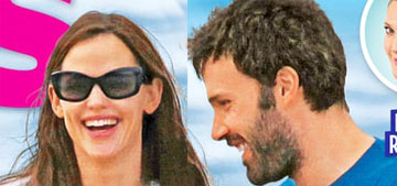 US: Jennifer Garner & Ben Affleck are on vacation in the same place they split