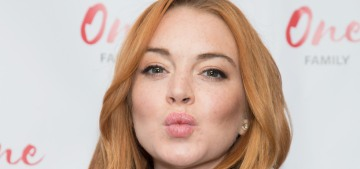 """Lindsay Lohan is launching her own lifestyle site, lord help us"" links"