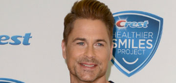Rob Lowe thinks he saw Bigfoot and that it wanted to kill him