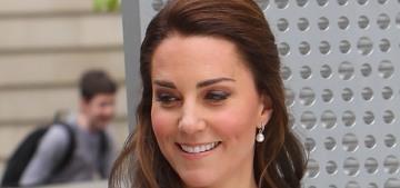 Duchess Kate in a £1,790 'mod' Gucci dress in London: cute or ridiculous?