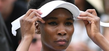 Venus Williams breaks down in tears when asked about her deadly car accident