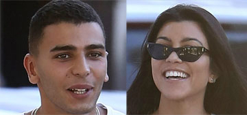 Kourtney Kardashian and her 23 year-old hook-up in France again: is this love?