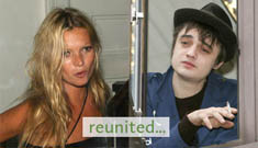 Kate Moss and Pete Doherty back together again