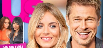 Us Weekly: Brad Pitt & Sienna Miller 'have been spending some time together'