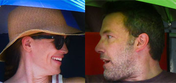 Jennifer Garner and Ben Affleck went to a Fourth of July parade with their kids