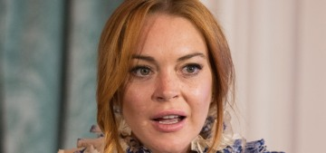 Lindsay Lohan tweets like a deplorable, MAGA-loving Donald Trump fanatic