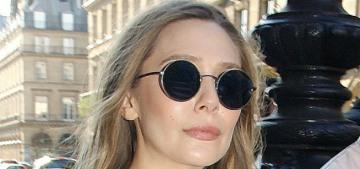Elizabeth Olsen brought her boyfriend Robbie Arnett to Paris Fashion Week