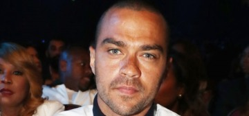 Jesse Williams in a 'nasty custody fight' with his estranged wife after dumping her