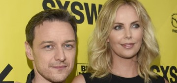 James McAvoy: Charlize Theron is 'so golden… she's so icy & dauntless'
