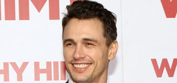 James Franco would fake an accent to get dates while working at McDonald's