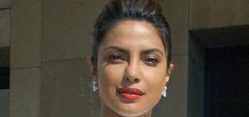 """Priyanka Chopra's Armani mullet dress was a highlight of PFW"" links"