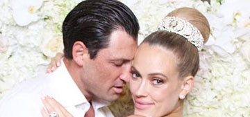 Maksim Chmerkovskiy & Peta Murgatroyd got married at a castle in NY
