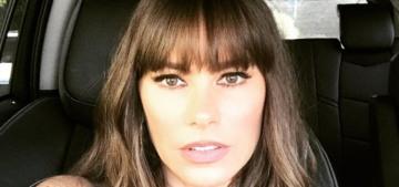 Sofia Vergara got bangs (trauma) for her 45th birthday: love it or hate it?