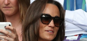 Pippa Middleton wears a £385 Tephi dress at Wimbledon: cute or tragic?