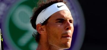 Well, the Wimbledon final won't be Roger Federer versus Rafa Nadal